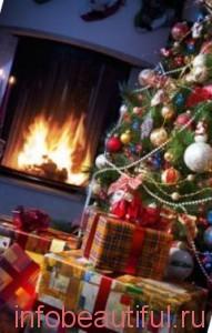 Символ подарки под ёлку на рождество и новый год