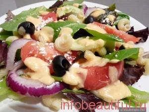 照片希腊沙拉食谱
