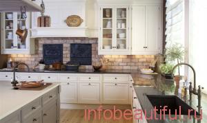 Чистая кухня в доме