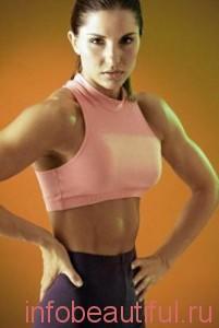 Комплекс упражнения для пресса для женщин