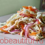 Recipe Spicy cabbage with chicken