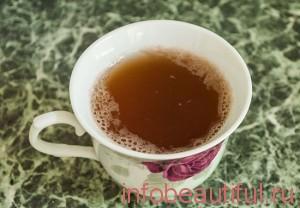 Скраб из Зеленого чай с сахаром и меда