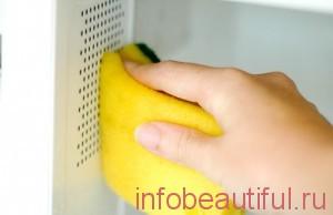 легко очистить вашу микроволновую печь