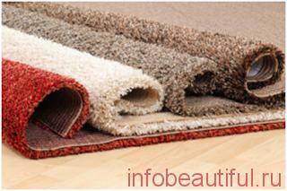 Методы чистки ковров