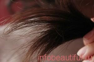 Masque cheveux secs