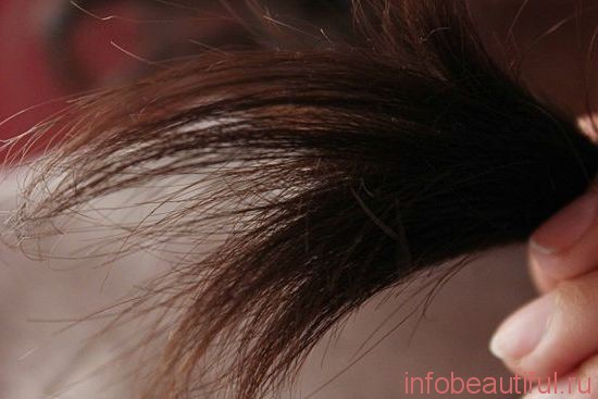 Сухие волосы маска