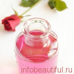 How to prepare rosewater