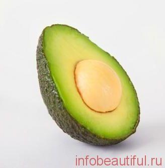 hair mask from avocado